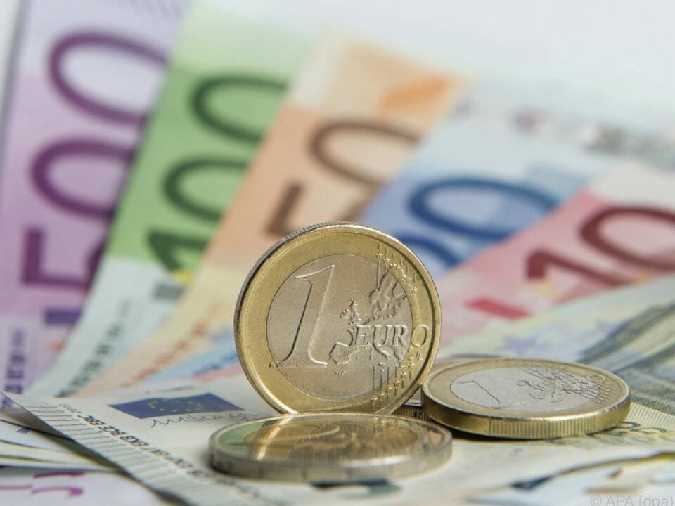Das Bargeld ist in Österreich beliebt