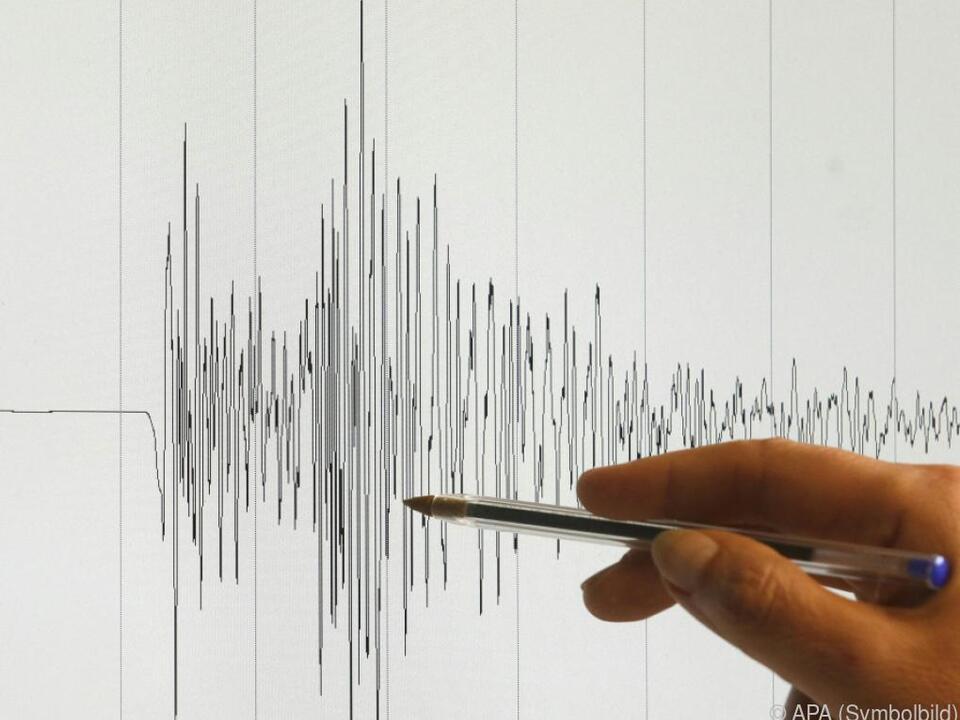 Das Beben erreichte eine Stärke von 5,9