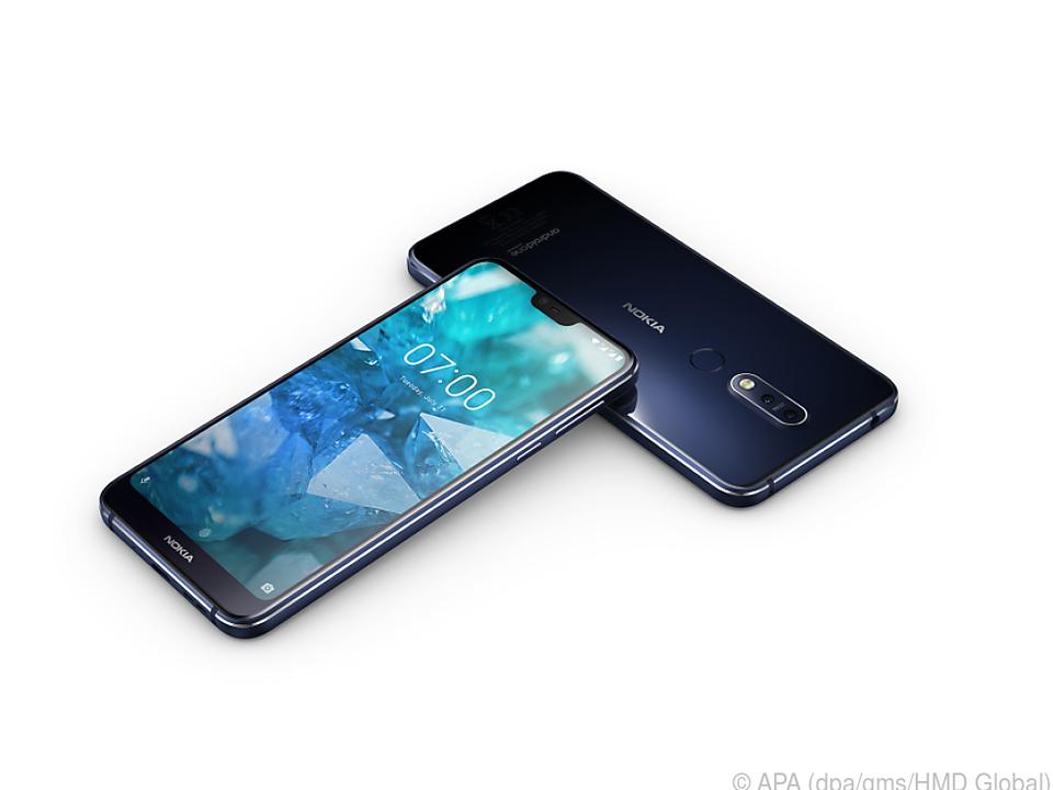 Das Display des Nokia 7.1 kann Hochkontrastbilder darstellen