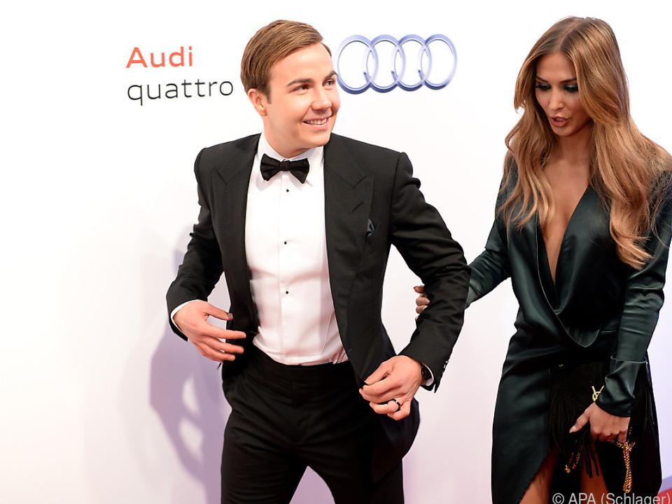 Das Glamour-Paar mag es gerne bodenständig