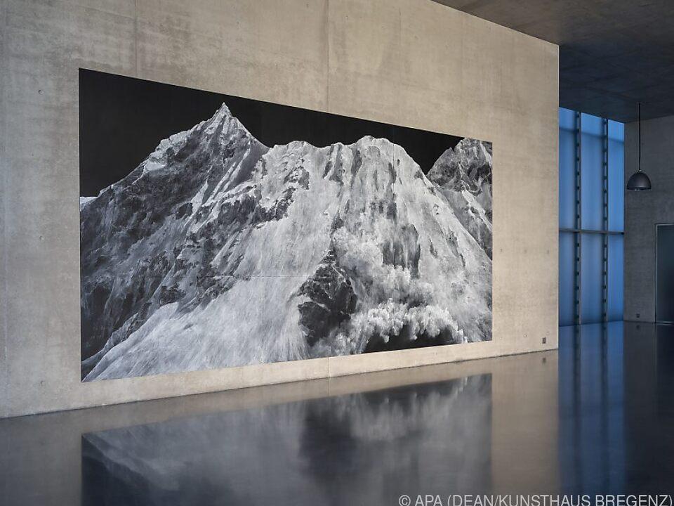 Das Kunsthaus Bregenz steht der Künstlerin exklusiv zur Verfügung