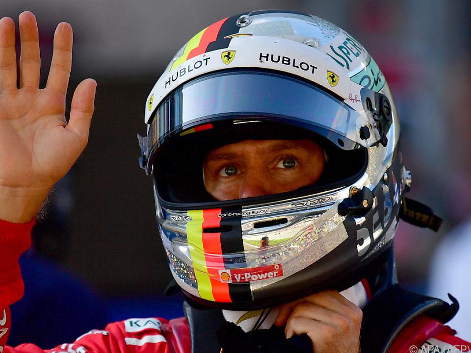 Das Prinzip Hoffnung lebt noch bei Vettel