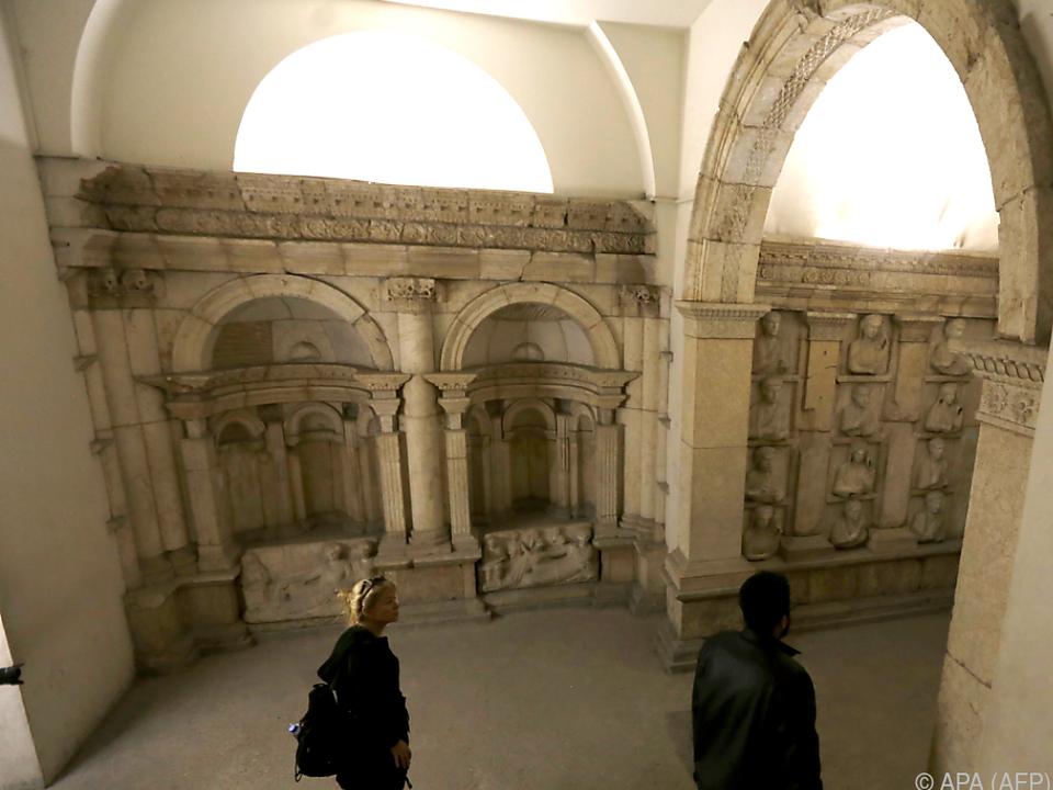 Das syrische Museum öffnete wieder seine Pforten