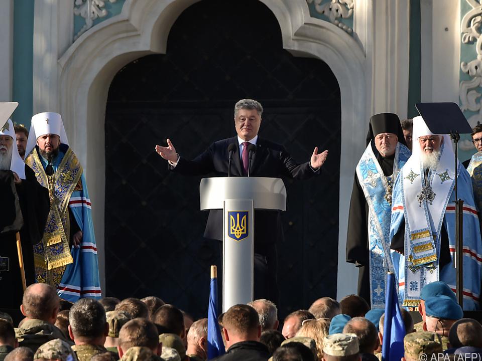 Das Verhältnis zwischen Kiew und Moskau ist wegen der Krim angespannt