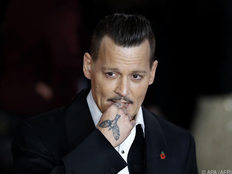 Depp hat Rosenkrieg hinter sich