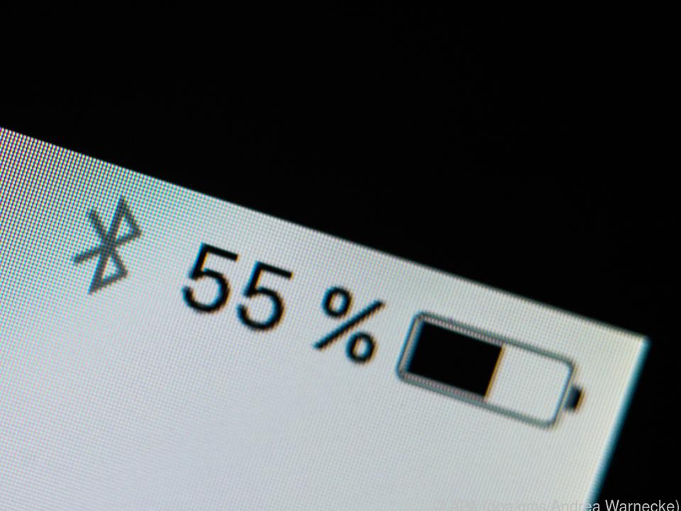 Bluetooth ist ein vergleichsweise akkuschonender Übertragunsgweg für Daten