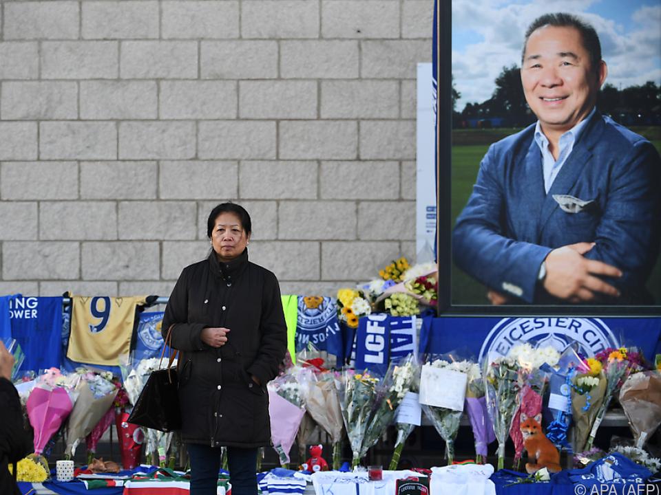 Der Clubchef war bei den Leicester-Fans überaus beliebt