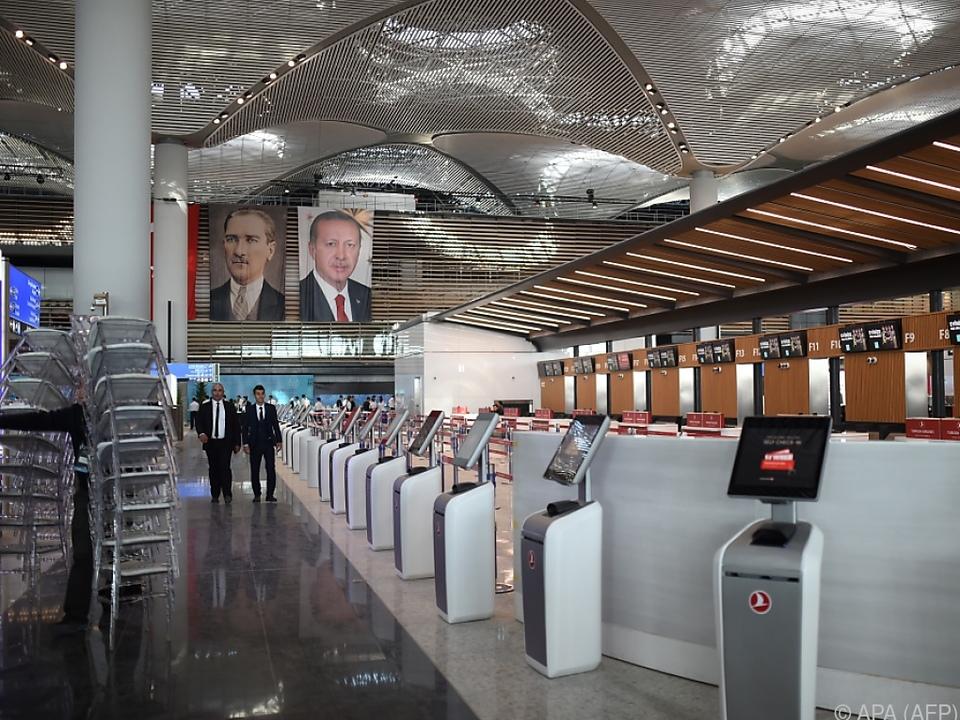 Der Flughafen soll der größte der Welt werden