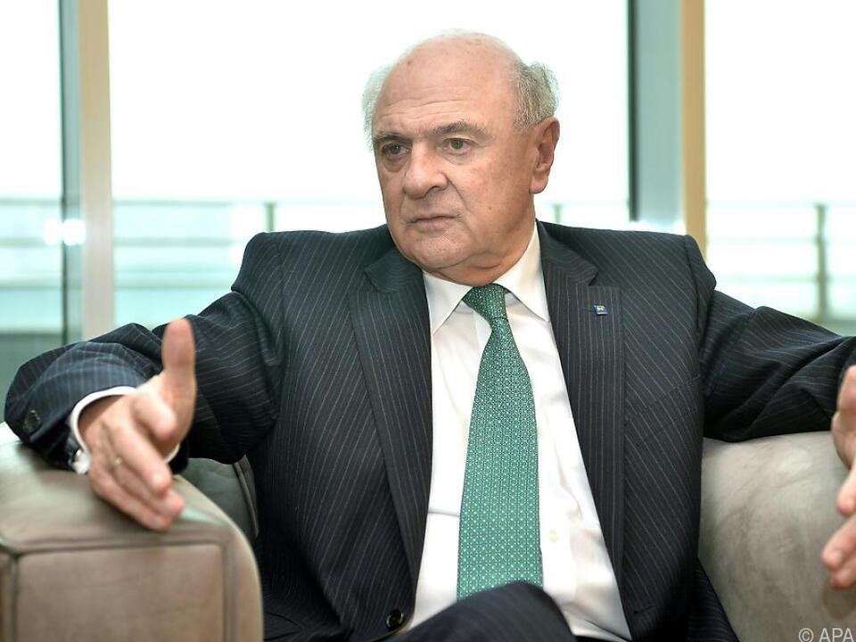 Der frühere Landeshauptmann Erwin Pröll