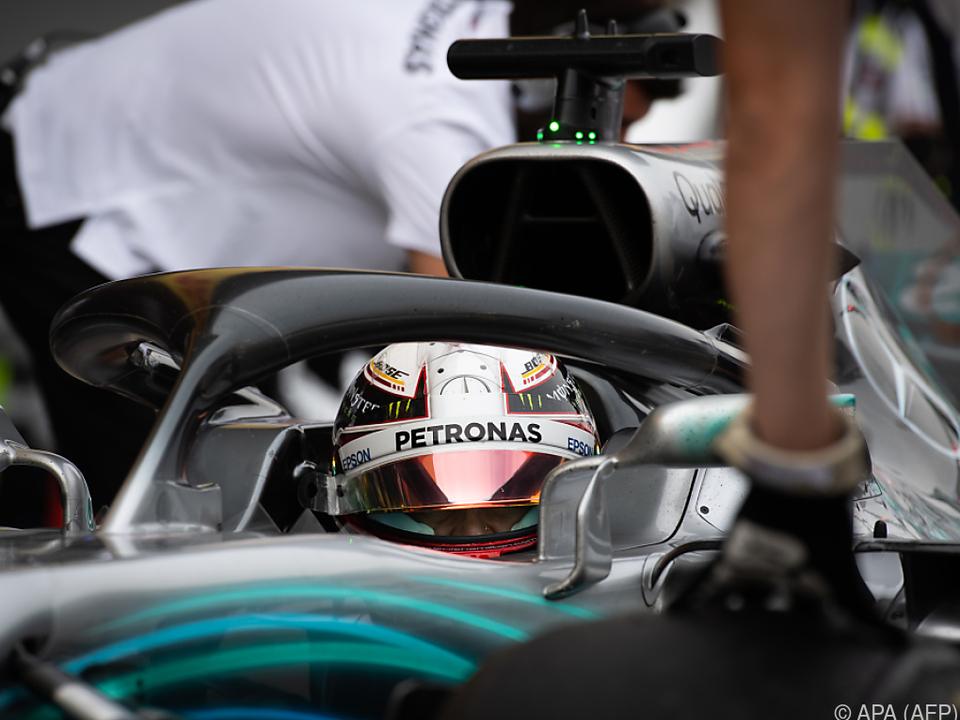 Der Mercedes rennt auch in Suzuka wie geschmiert