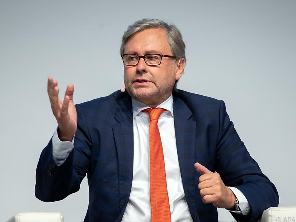 Der ORF-Generaldirektor Alexander Wrabetz