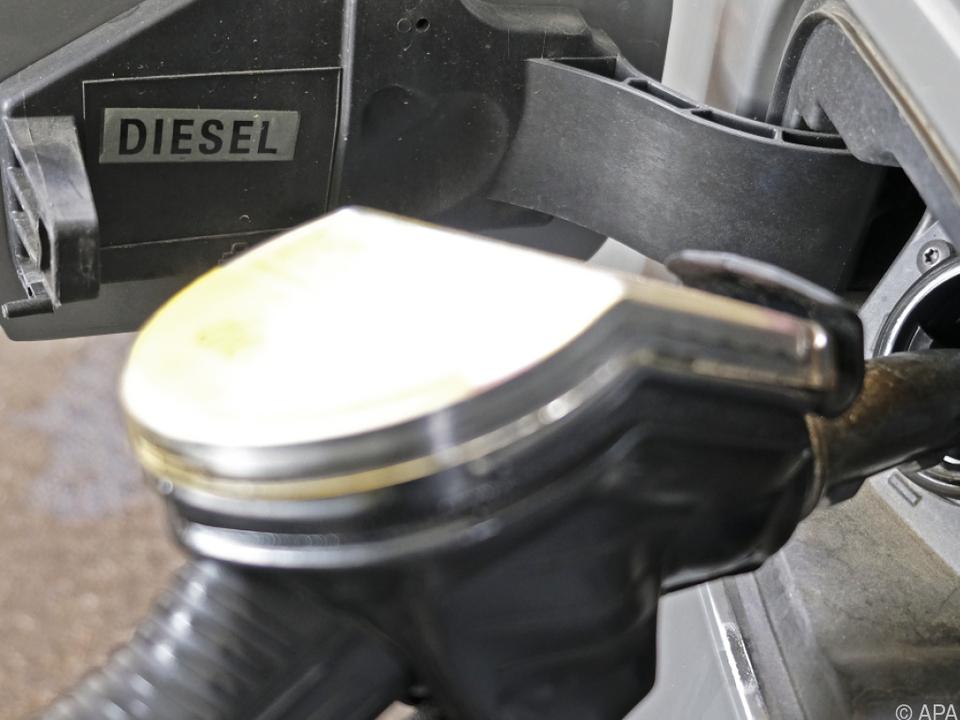 Der Preis für Diesel hat zuletzt angezogen