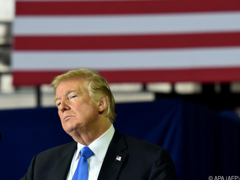 Der US-Präsident droht mit einer schweren Bestrafung