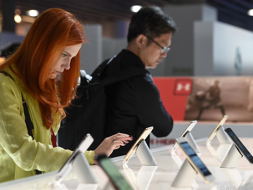Der Wert eines Smartphones sinkt sehr rasch