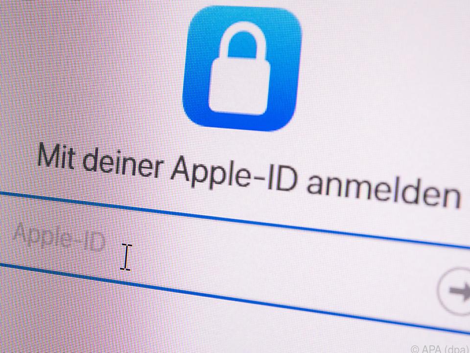 Die Apple-ID braucht man für verschiedene Dienste