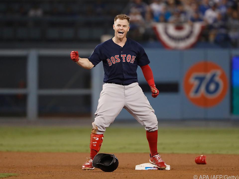 Die Boston Red Sox haben Grund zur Freude