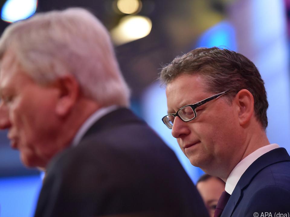 Die CDU kam in Hessen mit einem blauen Auge davon