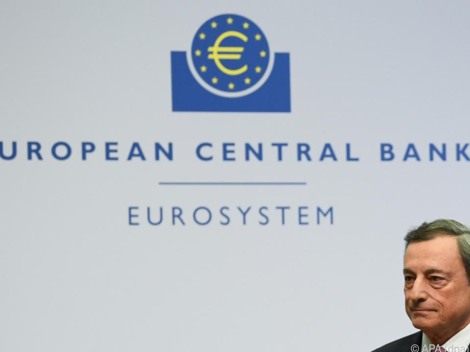 Die EZB ändert nichts am Leitzinssatz