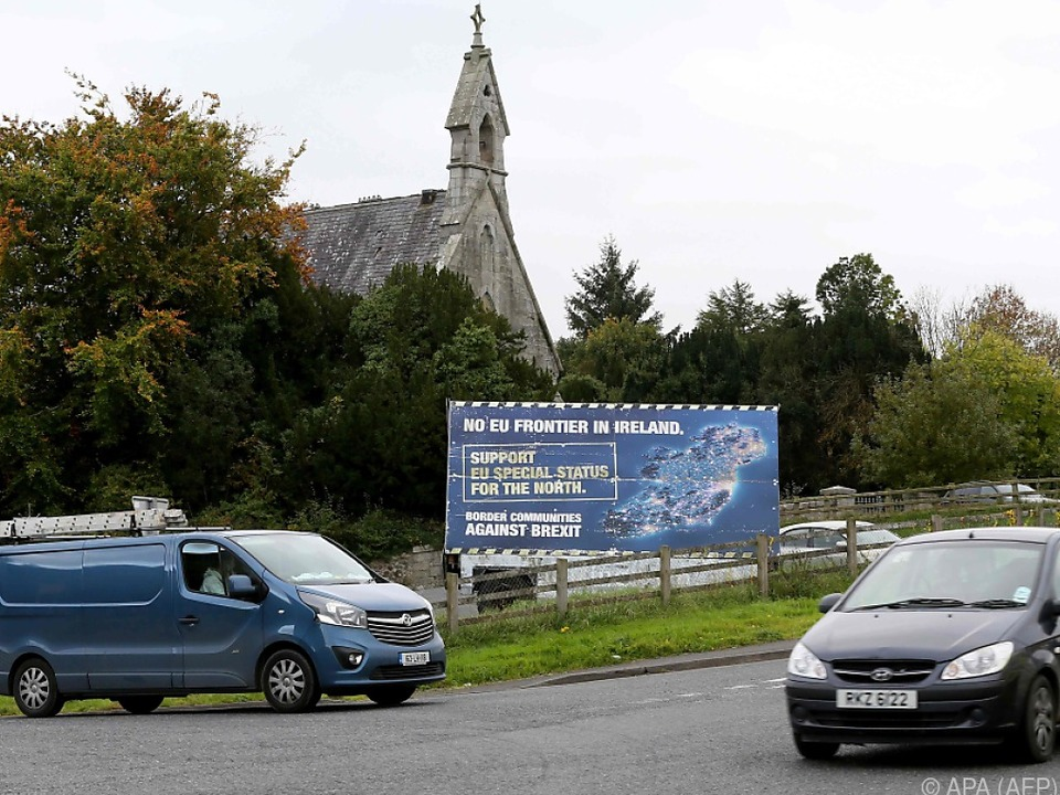 Die Frage der irischen Grenze ist eine der wichtigsten Streitfragen