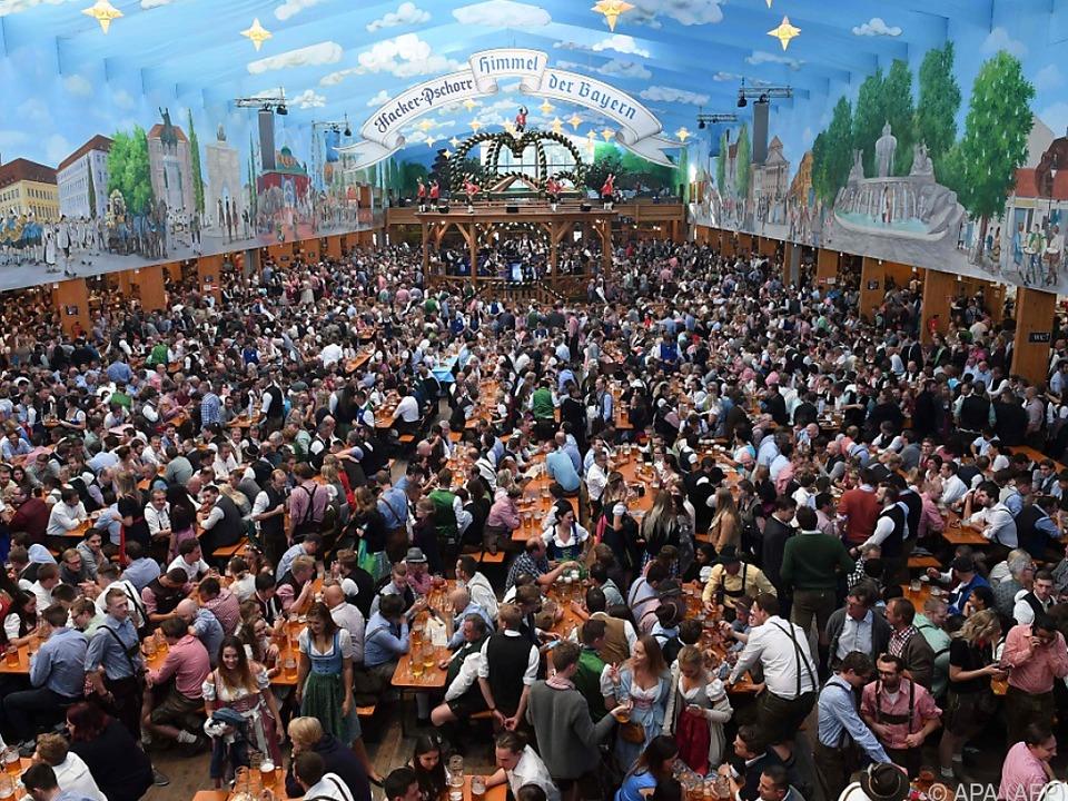Die Gäste tranken wie im Vorjahr 7,5 Millionen Liter Bier