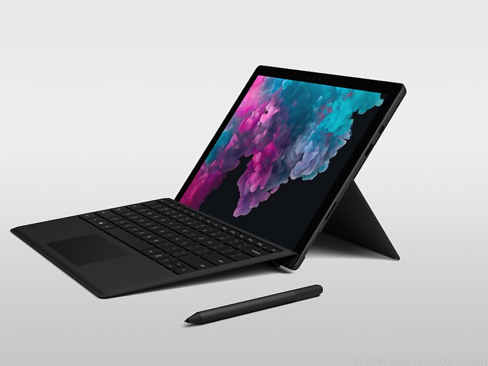 Das Surface Pro 6 hat sich äußerlich kaum verändert
