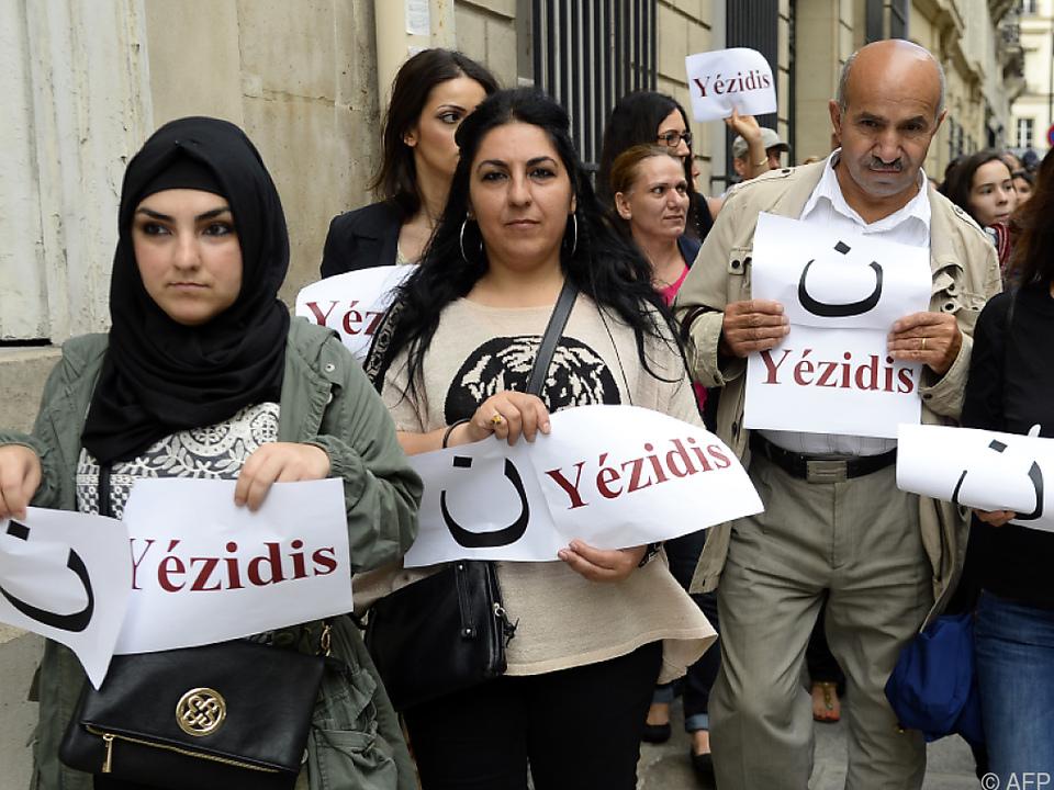 Die Gewalt gegen Frauen durch den IS geht weiter