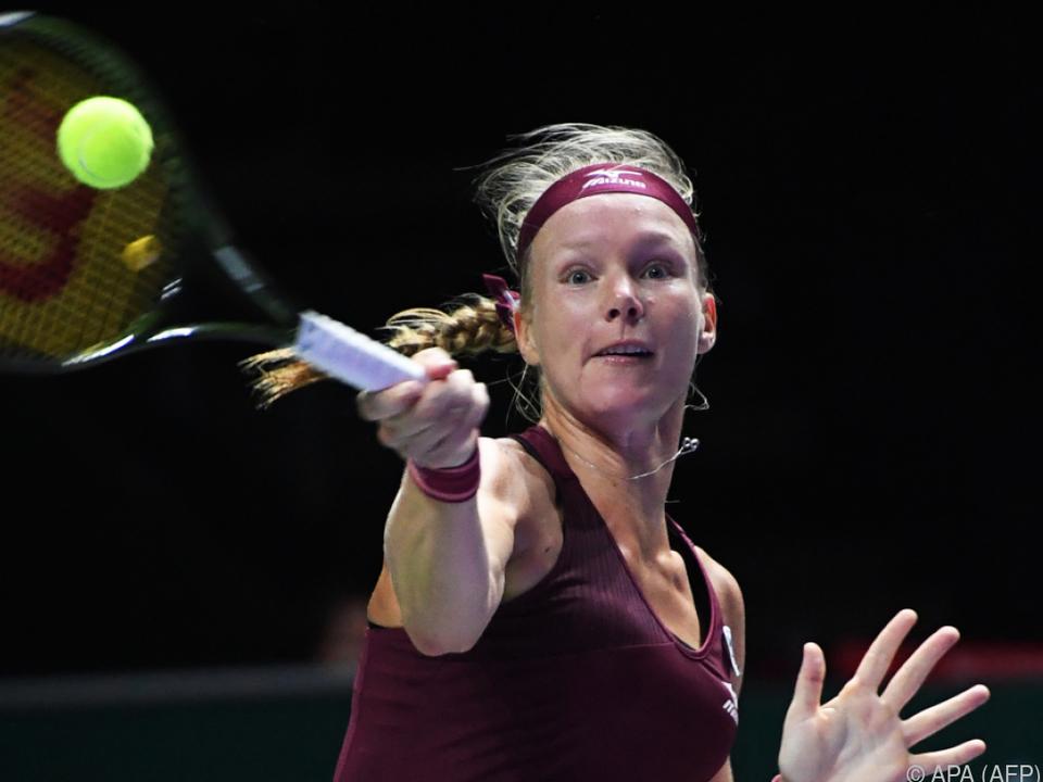 Die Niederländerin gewann gegen Naomi Osaka