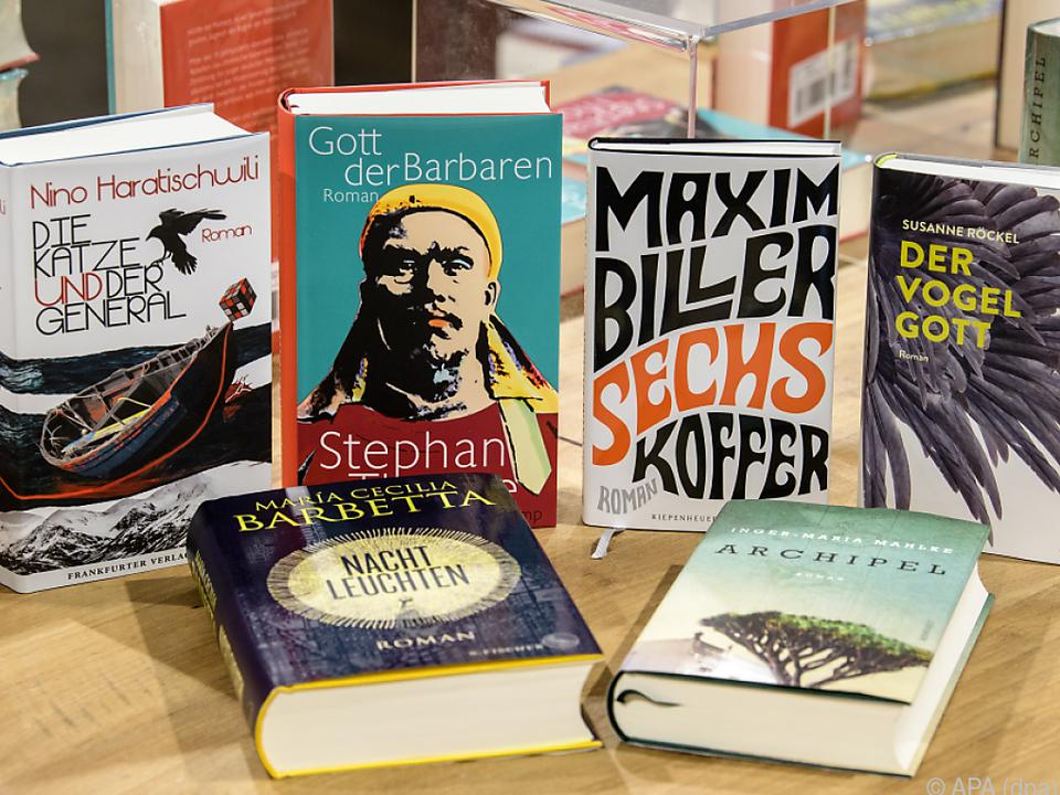 Die nominierten Bücher