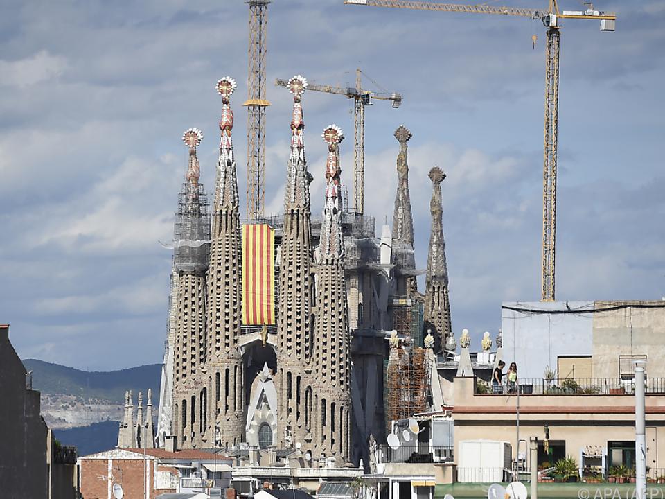 Die Sagrada Familia hat viele Gesichter