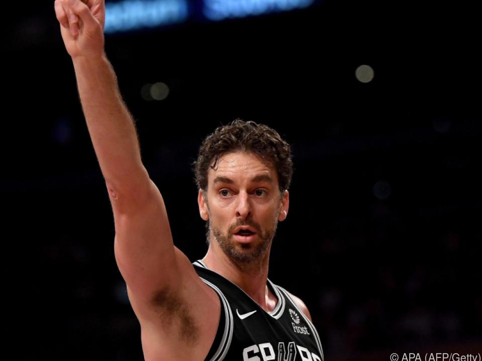 Die San Antonio Spurs zeigten auf