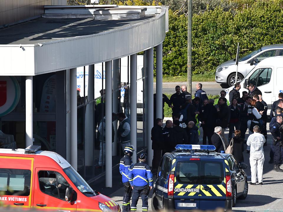 Die Terrorattacke in Südfrankreich hatte vier Tote gefordert