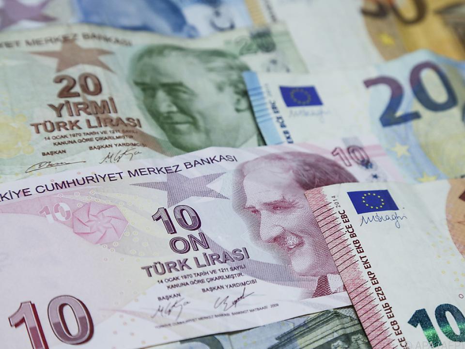 Die türkische Lira schwächelt enorm
