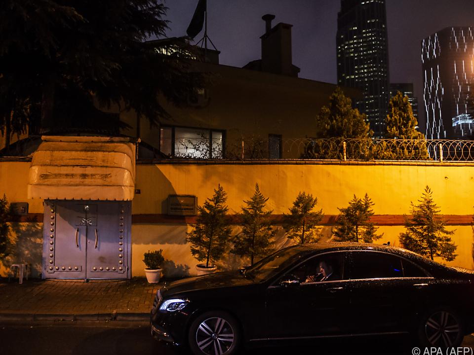 Die Untersuchung der saudischen Botschaft steht noch aus