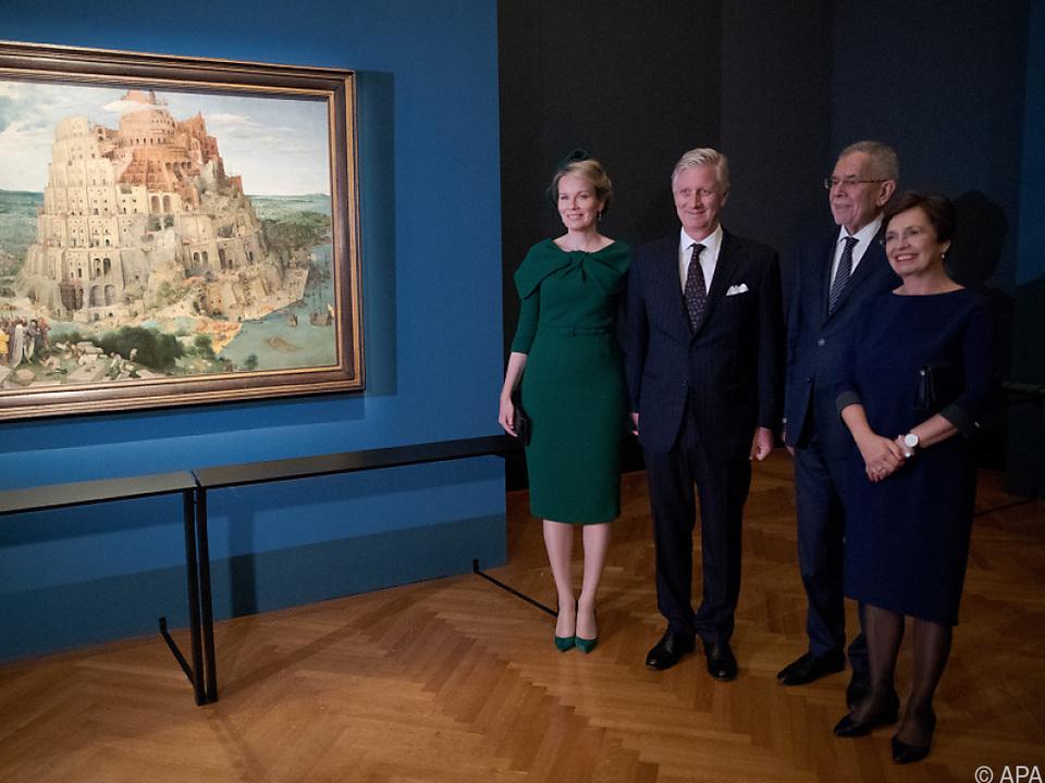 Die Van der Bellens und das belgische Königspaar