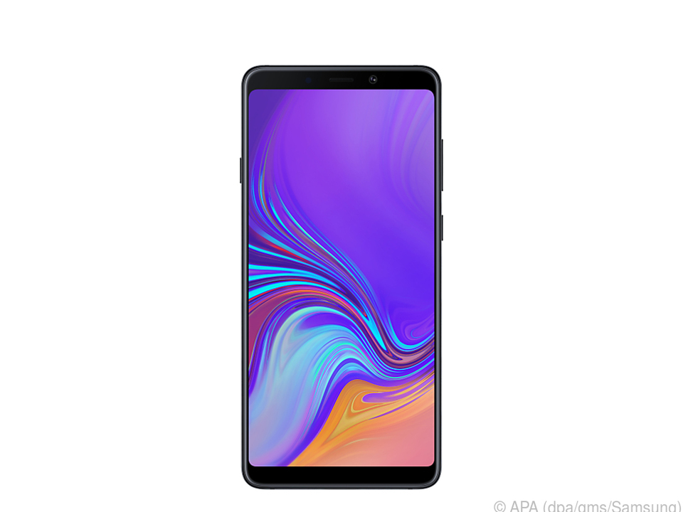 Das Display des Galaxy A9 ist 6,3 Zoll groß
