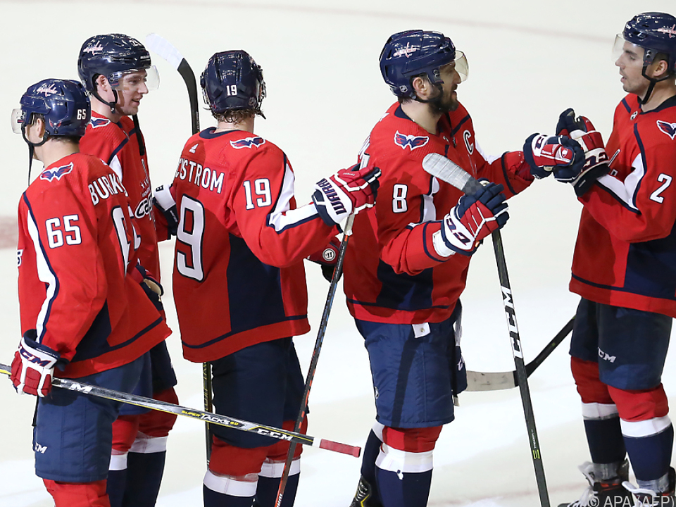 Die Washington Capitals erzielten gegen die Boston Bruins einen Sieg