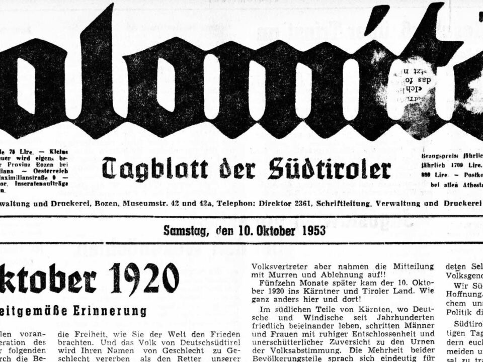 Dol 10. Okt 1953 Titels