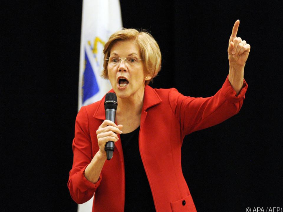Elizabeth Warren fordert Wettschuld ein