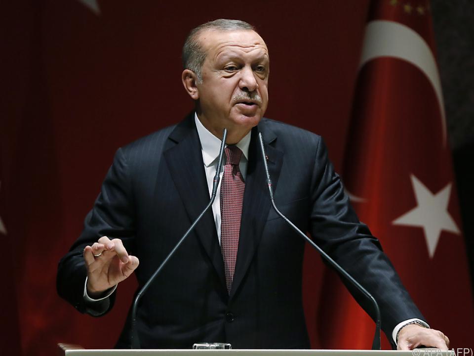 Erdogan forderte die Auslieferung der Verdächtigen