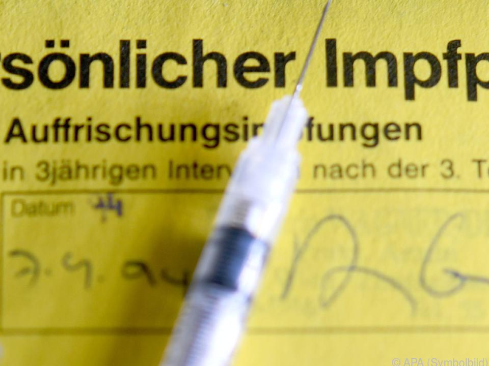 Es gibt große Durchimpfungsmängel in Österreich