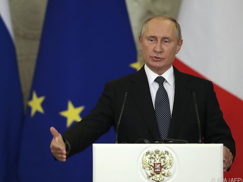 Es könne laut Putin auch ernsthafte Konsequenzen für Europa geben
