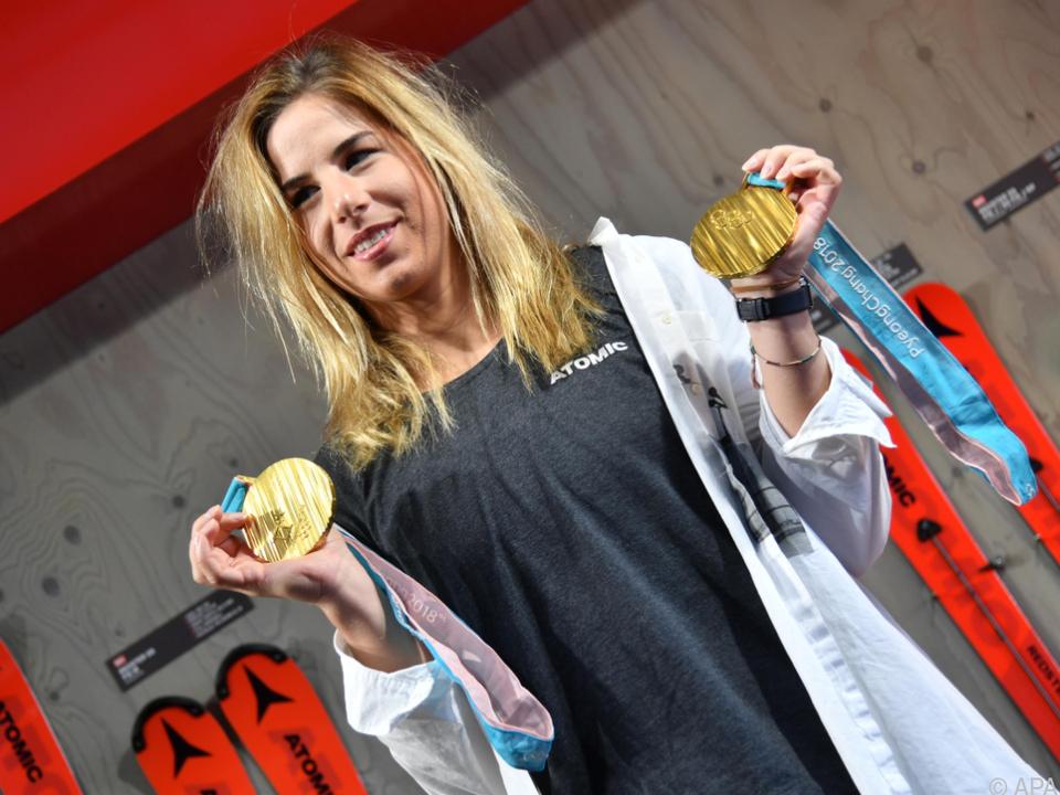 Ester Ledecka will mit ihrem Sport ordentlich Geld verdienen