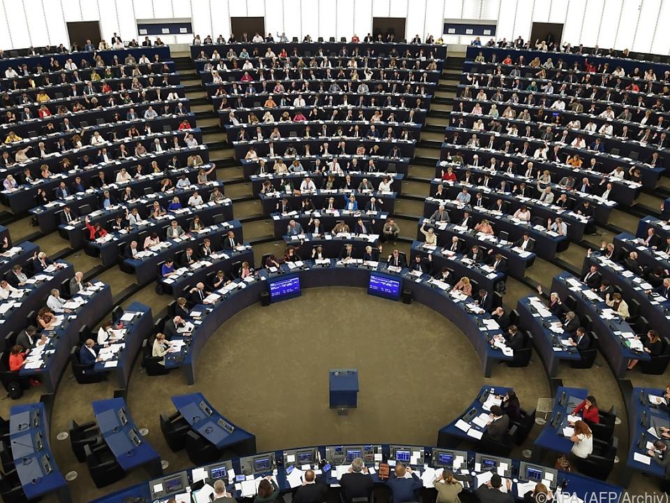 Europa-Parlament in Straßburg