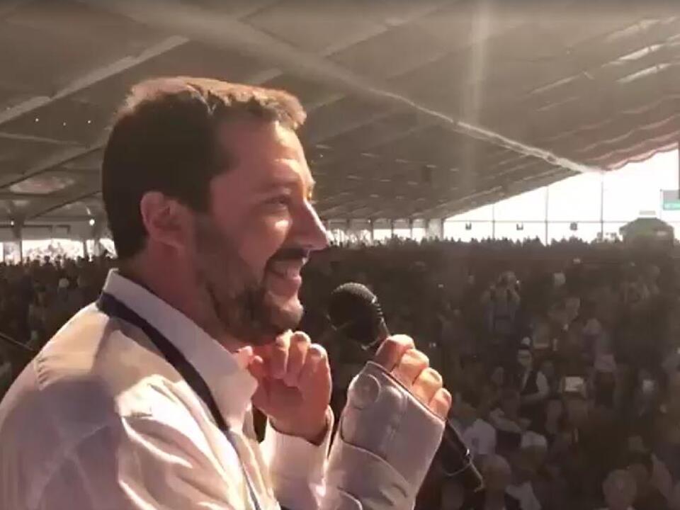 Fb-Matteo-Salvini Spatzenfest