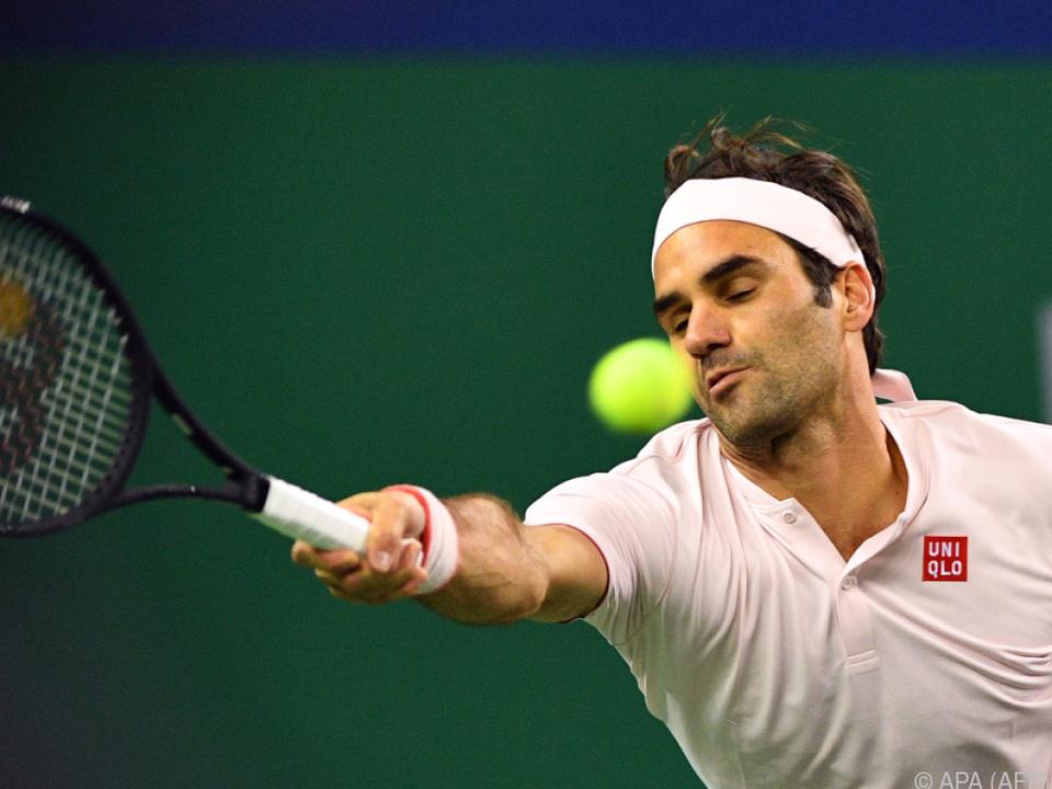Federer spielt im Halbfinale gegen Coric