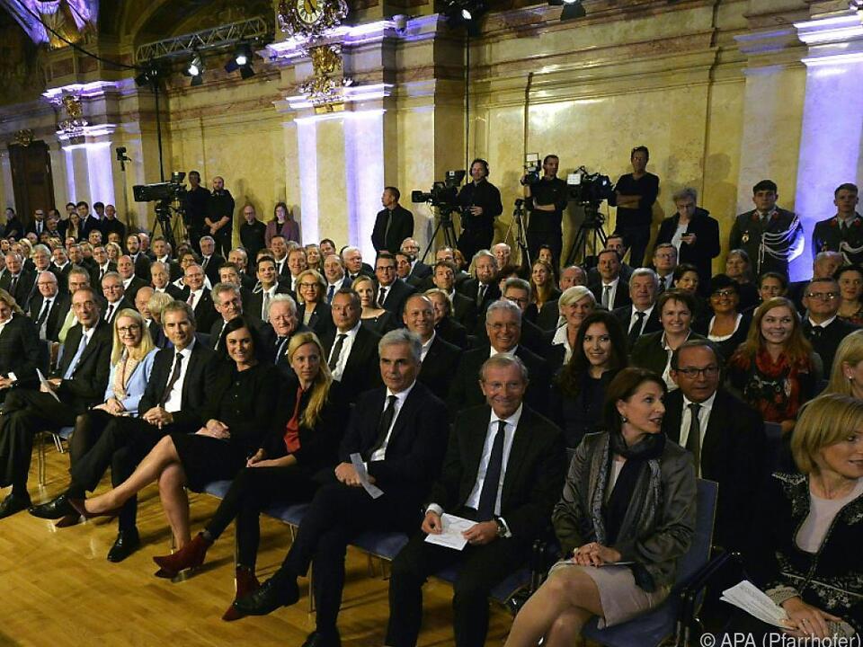 Festsitzung im Palais Niederösterreich in Wien