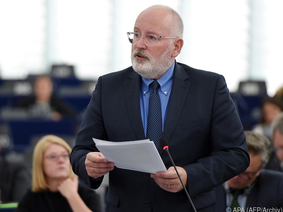 Frans Timmermans soll Mehrheit hinter sich haben