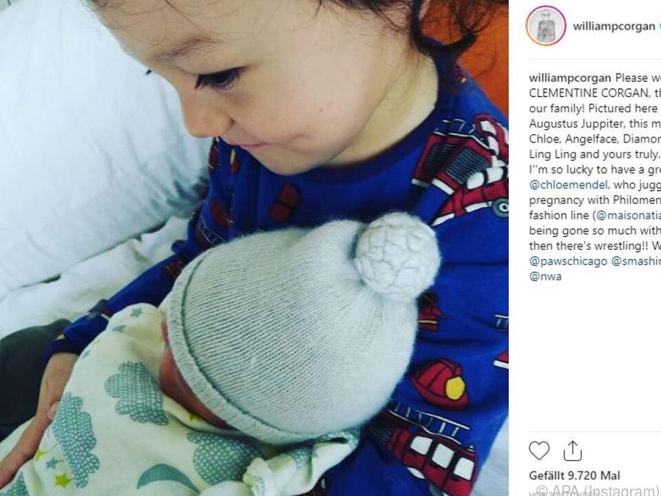 Frontman Billy Corgan hat eine Tochter bekommen