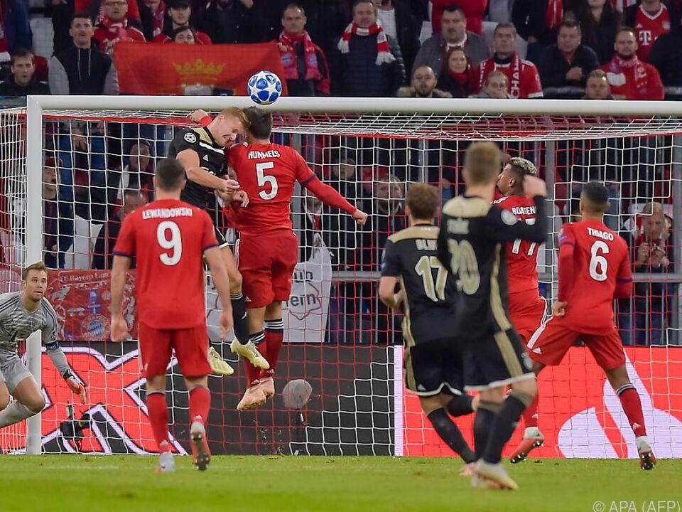 Für die Bayern lief es nicht rund