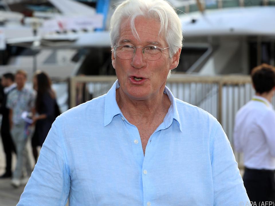 Gere präsentierte seine neue Serie in Cannes